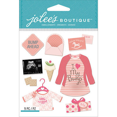 Jolees NOTM242093 - Jolee's Boutique Dimensional Stickers