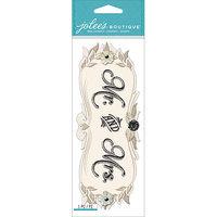 Jolees NOTM242741 - Jolee's Boutique Title Wave Dimensional Stickers