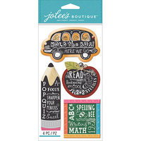 Jolees NOTM242309 - Jolee's Boutique Dimensional Stickers