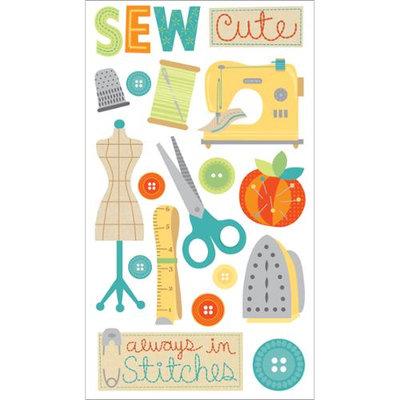 Sticko E5231003 Sticko Plus Stickers-Cute Stitches