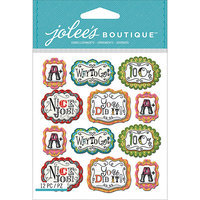 Jolees NOTM242301 - Jolee's Boutique Mini Repeats Dimensional Stickers