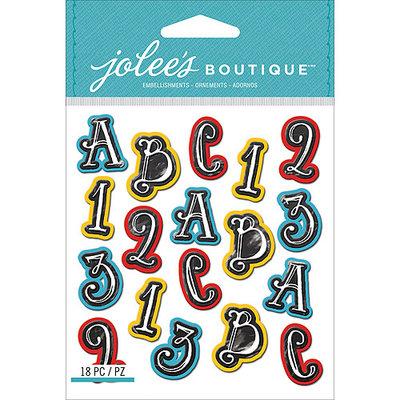 Jolees NOTM242302 - Jolee's Boutique Mini Repeats Dimensional Stickers