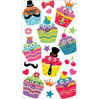 Sticko E5200202 Sticko Classic Stickers-Dress Up Cupcakes