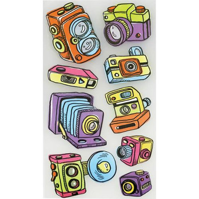 Sticko E5200248 Sticko Classic Stickers-Vintage Cameras