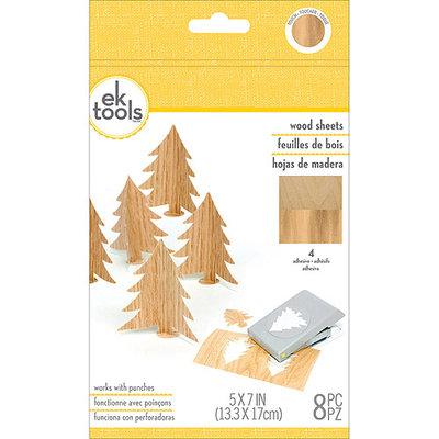 Ek Success Wood Sheets 8/Pkg-5inX7in