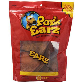 Scott Pet Products,inc. 10 Pack. Pork Skin Earz - Part #: PE024