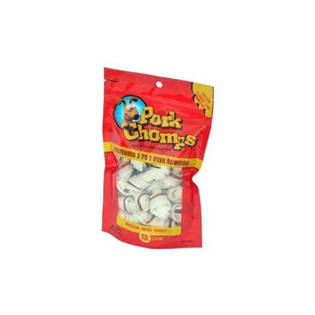 Scott Pet Products,inc. 12ct Bacon Flv Pork Skin Knotz