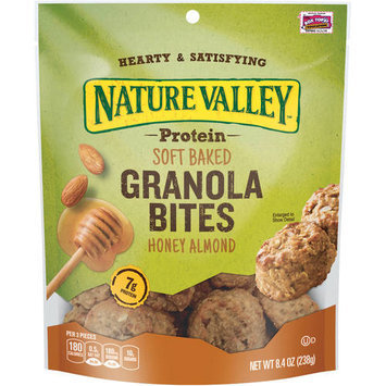 Nature Valley Honey Almond Protein Soft Baked Granola Bites, 8.4 oz