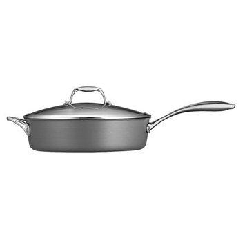 Tramontina Usa Inc. Tramontina Gourmet Hard Anodized 5.5 qt. Covered Deep Saute Pan