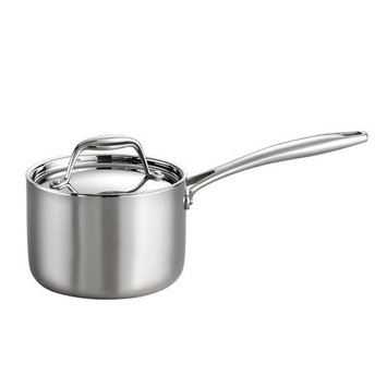 Tramontina Gourmet Tri-Ply Clad Stainless Steel 1.5 Qt Covered Sauce Pan