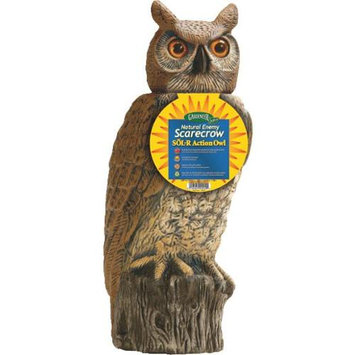 Dalen Gardeneer SRHO4 Solar Powered Rotating Head Owl
