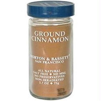 Morton & Bassett B28822 Morton & Bassett Organic Ground Cinnamon -3x2.2oz
