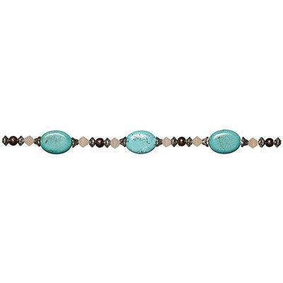 Cousin 150112 Jewelry Basics Gemstone Bead Mix 27PkgMarbled Turquoise
