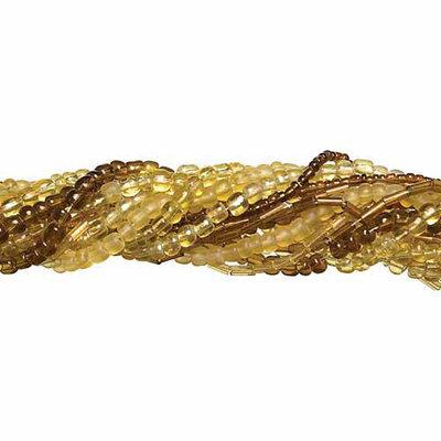 Cousin 150229 Jewelry Basics Seed Bead Mix 90 Grams-Pkg-Orange