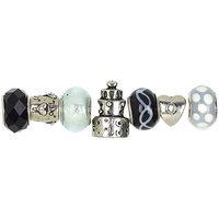 Cousin T346GMB7-99039 Trinkettes Glass & Metal Beads 7/Pkg