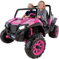 Peg-perego Polaris RZR 900 Pink 12 Volt Vehicle