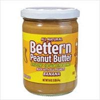 Wonder Natural Foods 57568 Wonder Banana PButter Spread 6x16 Oz