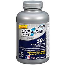 One A Day Men's 50 Healthy Advantage 200 Tablets