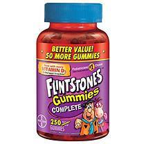 Bayer Flintstones Gummies Vitamin Supplement - 250 ct.