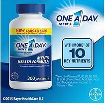 One A Day Men's Health Formula Multivitamin (300 ct.)