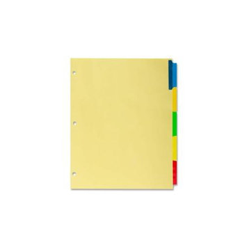 Kleer-Fax Commercial Series Insertable Ring Book Index Divider