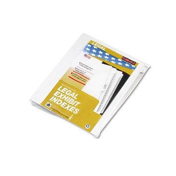Kleer-Fax® 80000 Series Numerical Side Tab Legal Index Divider