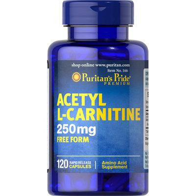 Puritan's Pride Acetyl L-Carnitine 250 mg-120 Capsules