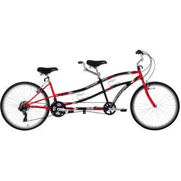 Kent International Inc Northwoods Tandem Bike - Dual Drive 21-Speed - 26