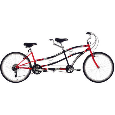 Kent International Inc Northwoods Tandem Bike - Dual Drive 21-Speed - 26