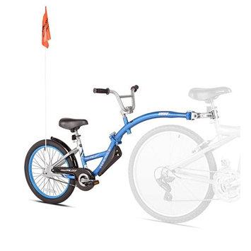 WeeRide Tag-Along Bike - Pro-Pilot Blue