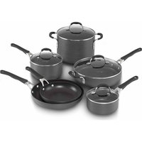 Cooking With Calphalon 10-Pc. Hard-Anodized Cookware Set