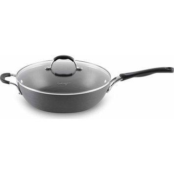 Cooking With Calphalon 12-In. Hard-Anodized Jumbo Frypan