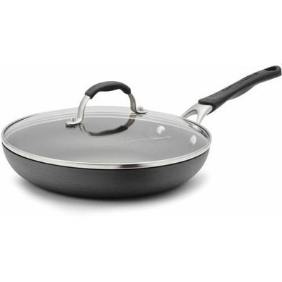 Cooking With Calphalon 10-In. Hard-Anodized Covered Omelet Pan