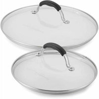 Cooking with Calphalon Glass Lid Combo - 8-Inch/10-Inch