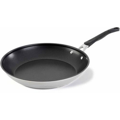 Cooking With Calphalon 12-In. Stainless Steel Omelet Pan