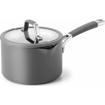 Cooking With Calphalon Easy-System 2 1/2-Qt. Hard-Anodized Sauce Pan