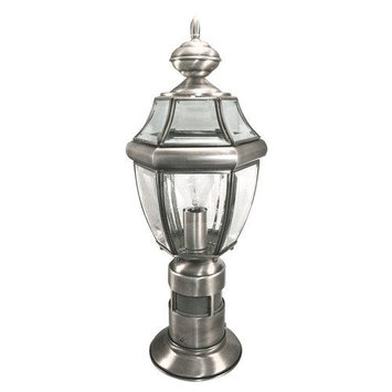 Heath Zenith SL-4370-SA Antique Silver 1 Light 360 Degree Motion