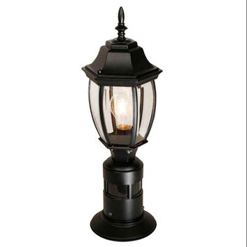 Heath Zenith SL-4392-BK Black 1 Light 360 Degree Motion Activated