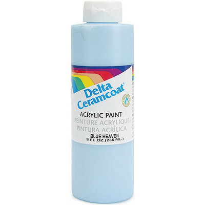 Delta Creative Delta 296707 Ceramcoat Acrylic Paint 8 Ounces-Blue Heaven-Opaque