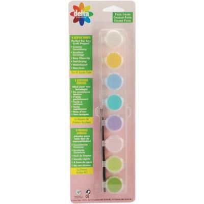 Delta Creative Ceramcoat Acrylic Paint Pots-Pastel Colors