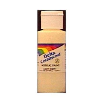 Delta Ceramcoat Acrylic Paint 2 Ounces-Spice Brown/Semi