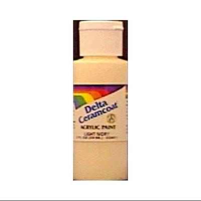 Delta Creative Delta 640018 2 Ounces Ceramcoat Acrylic Paint - Quaker Grey-Opaque