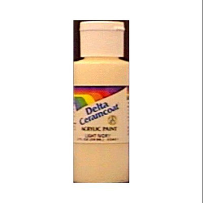 Delta Ceramcoat Acrylic Paint 2 Ounces-Cardinal Red/Tran