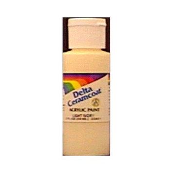 Delta Ceramcoat Acrylic Paint 2 Ounces-Raw Sienna/Semi-O