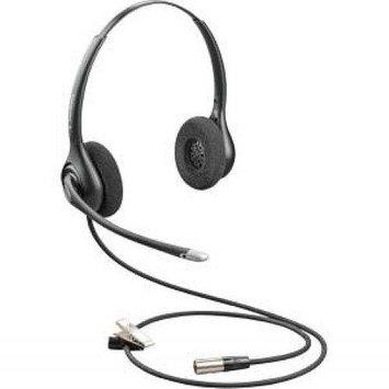 Plantronics SupraPlus HW261N-DC Dual-Channel Wideband Headset with