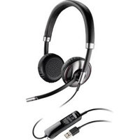 Plantronics Blackwire C720-m Headset - Stereo - USB - Wired/wireless - Bluetooth - Over-the-head - Binaural - Supra-aural - Noise Cancelling Microphone (87506-11)