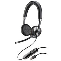 Plantronics Blackwire 725 Corded USB Headset With Active Noise Canceling - Stereo - USB - Wired - 20 Hz - 20 Khz - Over-the-head - Binaural - Supra-aural (202581-01)