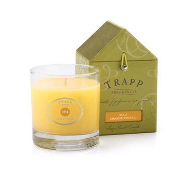 Trapp Tumbler Candle Large (Orange / Vanilla)