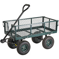 Sandusky Heavy Duty Steel Crate Wagon Cart