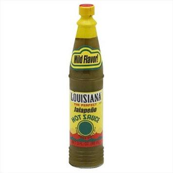 Louisiana Louisiana Brand Jalapeno Hot Sauce 3 Oz Pack Of 12